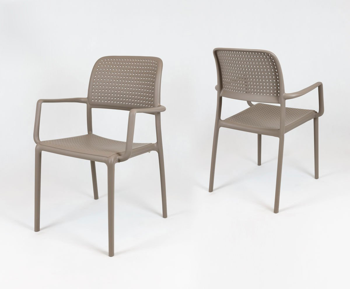 Sk design kr036 latte stuhl mit armlehnen polypropylen for Design stuhl hersteller