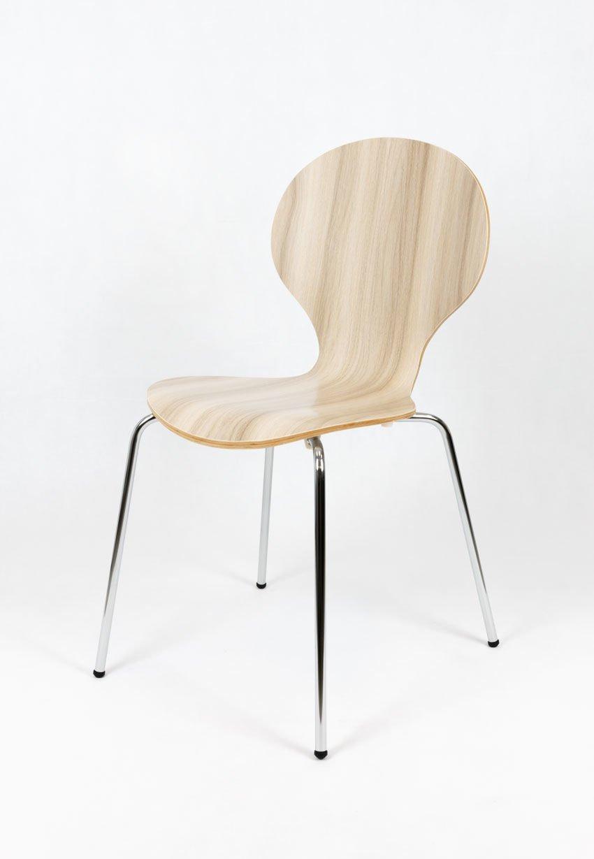 Sk design skd004 stuhl grau holz grau angebot krzes a for Design stuhl hersteller