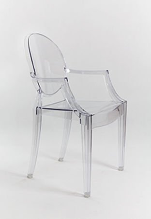 SK Design KR001 Clear Chair Ghost