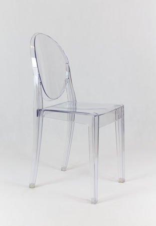 SK Design KR003 Transparentne Krzesło