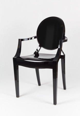 SK Design KR001 Czarne Krzesło