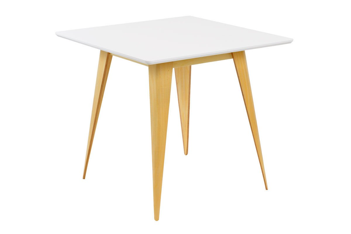 Sk design st15 white table 80 x 80 offer tables for Table 80 x 80