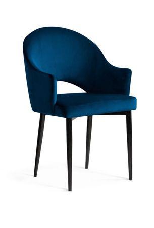 Chair GODA navy / black leg / BL86