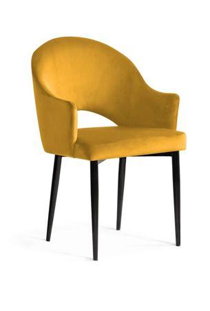 Chair GODA honey / black leg / BL68