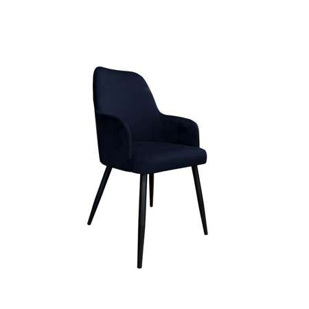 Black upholstered PEGAZ chair material MG-19