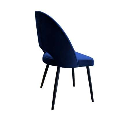 Blue upholstered LUNA chair material MG-16