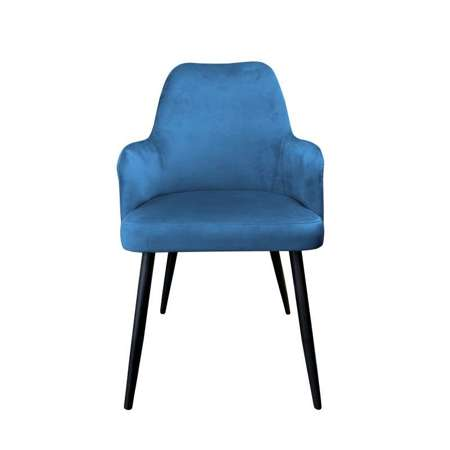 Blue upholstered PEGAZ chair material MG-33