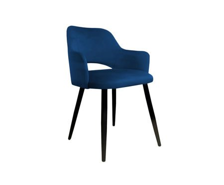 Blue upholstered STAR chair material MG-16
