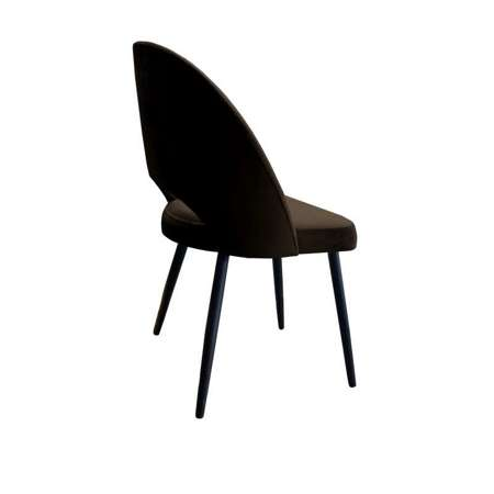 Brown upholstered LUNA chair material MG-05