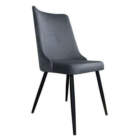 Chair Orion dark gray material BL-14