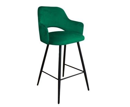 Green upholstered STAR hoker material MG-25