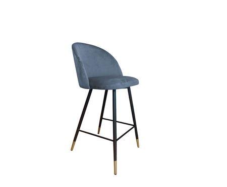 KALIPSO Stoker blue-gray material BL-06 with golden leg