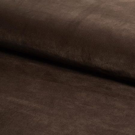 KALIPSO chair dark brown material MG-05 with golden leg