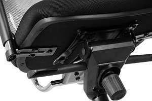 Krzesło Fotel obrotowy Ibiza - Szary