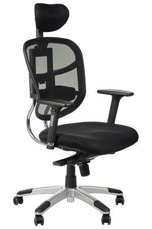 Krzesło Fotel obrotowy Ibiza - czarny