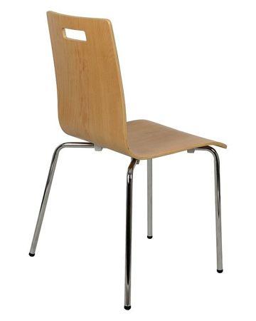 Krzesło sklejka gięta SK-132/A BUK BUKOWE