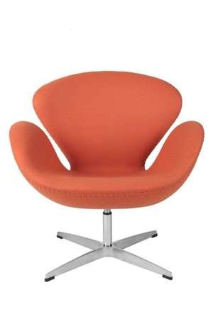 Orange Cashmere Cup armchair 11