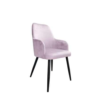 Pink upholstered PEGAZ chair material MG-55