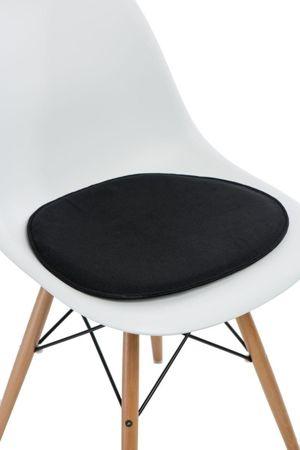 Poduszka na krzesło KR012 czarna