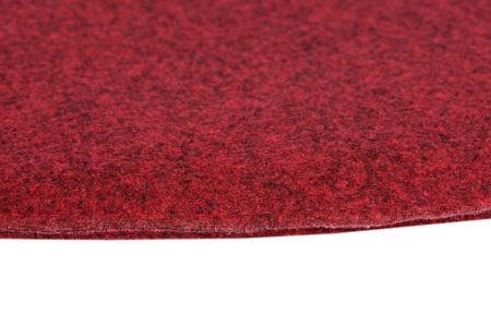 Poduszka na krzesło KR012F czerwona