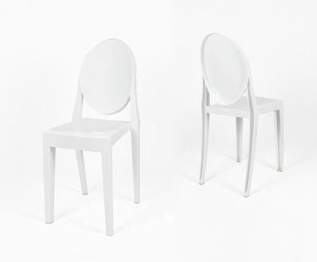 SK DESIGN KR003 WHITE CHAIR