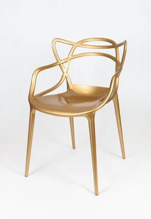 SK Design KR013 Gold Chair