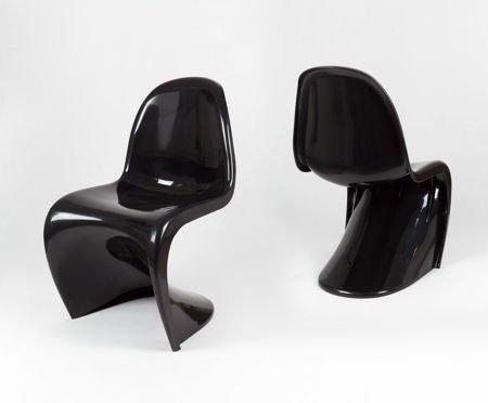 SK Design KR017 Black Chair Shine