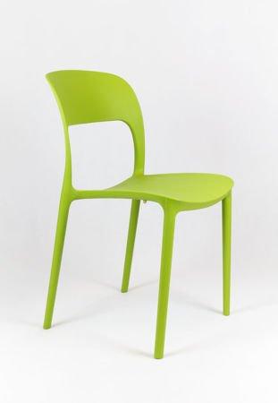 SK Design KR022 Green Polypropylene Chair