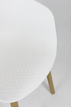 SK DESIGN KR049 WHITE CHAIR
