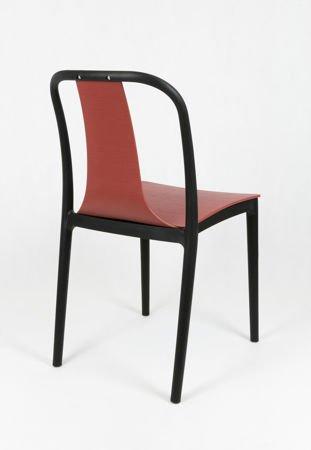 SK DESIGN KR053 RED POLYPROPYLENE CHAIR