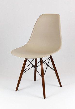 SK Design KR012 Beige Chair Wenge