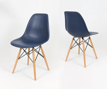 Sk Design Kr012 Dark Blue Chair Beech Dark Blue Beech Wood Offer