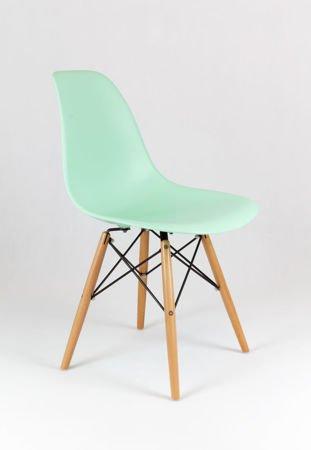 SK Design KR012 Pistachio Chair, Beech legs