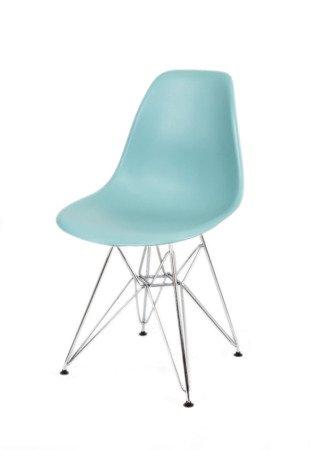 SK Design KR012 Surfin Chair, Chrome legs