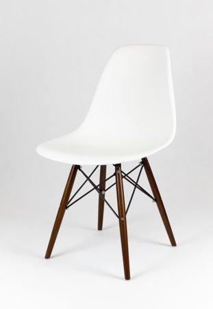 SK Design KR012 White Chair Wenge