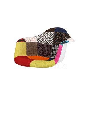 SK Design KR012F Upholstered Seat Patchwork 3