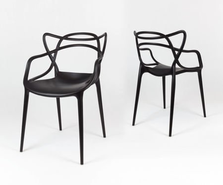 SK Design KR013 Black Chair