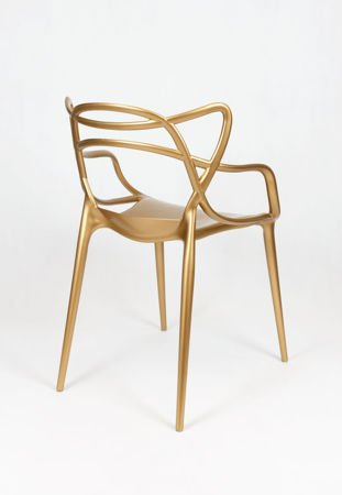SK Design KR013 Gold Chair
