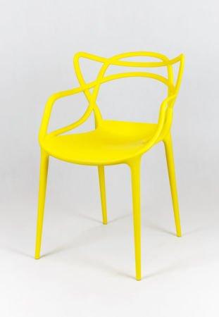 SK Design KR013 Yellow Chair