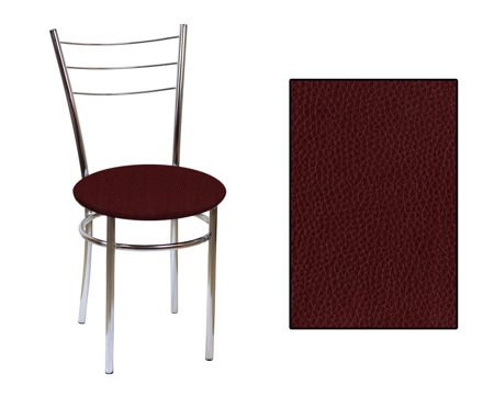 SKN Polo Chair, Chrome Legs