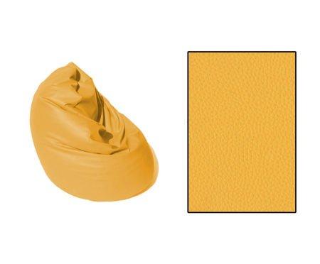SKN Pouf SAKO XXL Yellow 400L