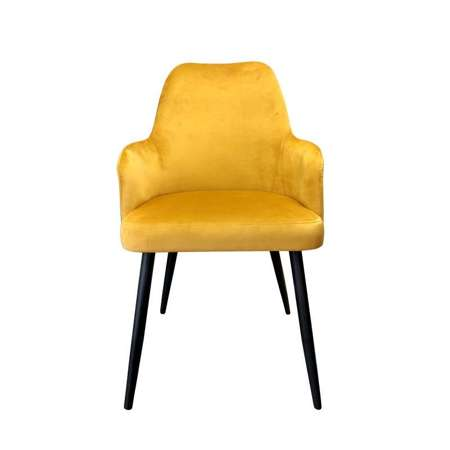 Yellow upholstered PEGAZ chair material MG-15