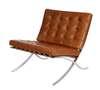 BA1 armchair brown bright vintage