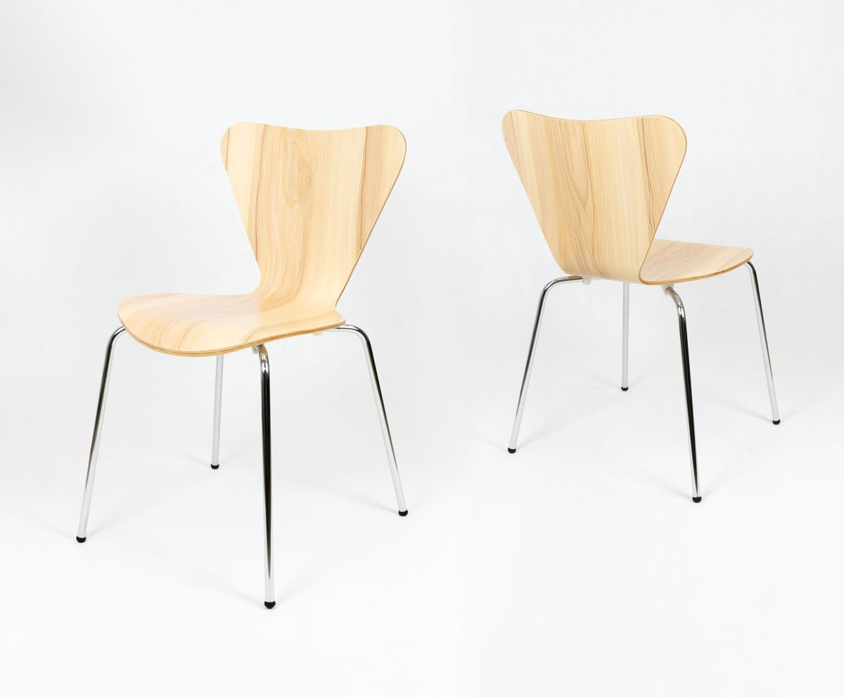 Sk design skd007 stuhl rosa holz rose angebot st hlen for Design stuhl hersteller