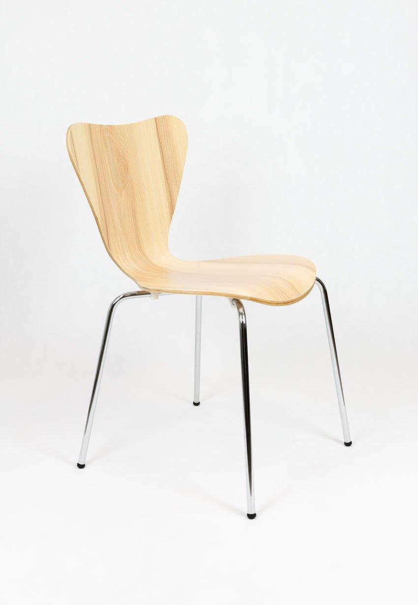 Sk design skd007 stuhl rosa holz rose angebot st hlen for Stuhl design holz