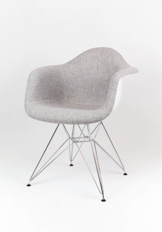 sk design kr012f grau polster sessel chrom tbsz metall verchromt angebot krzes a angebot. Black Bedroom Furniture Sets. Home Design Ideas