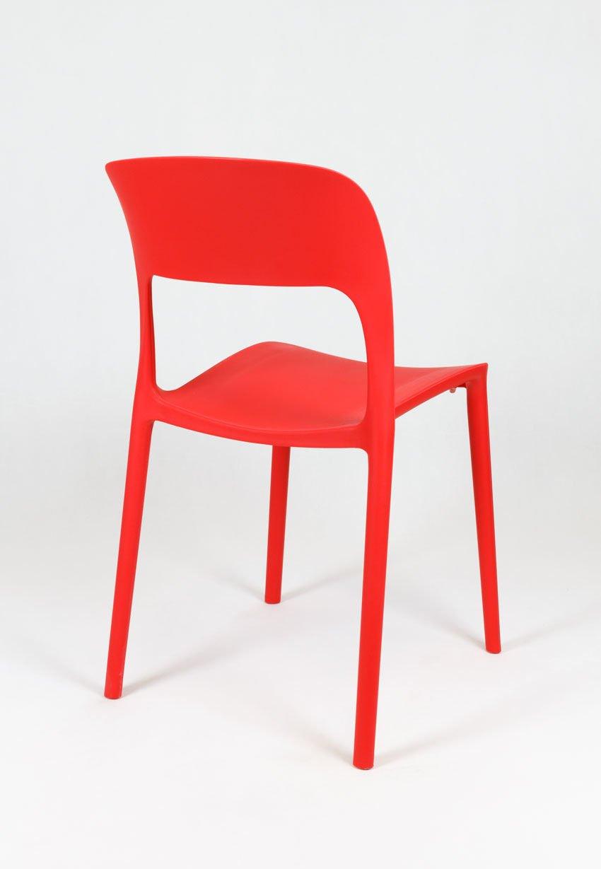 Sk design kr022 rot stuhl aus polypropylen rot angebot for Design stuhl rot