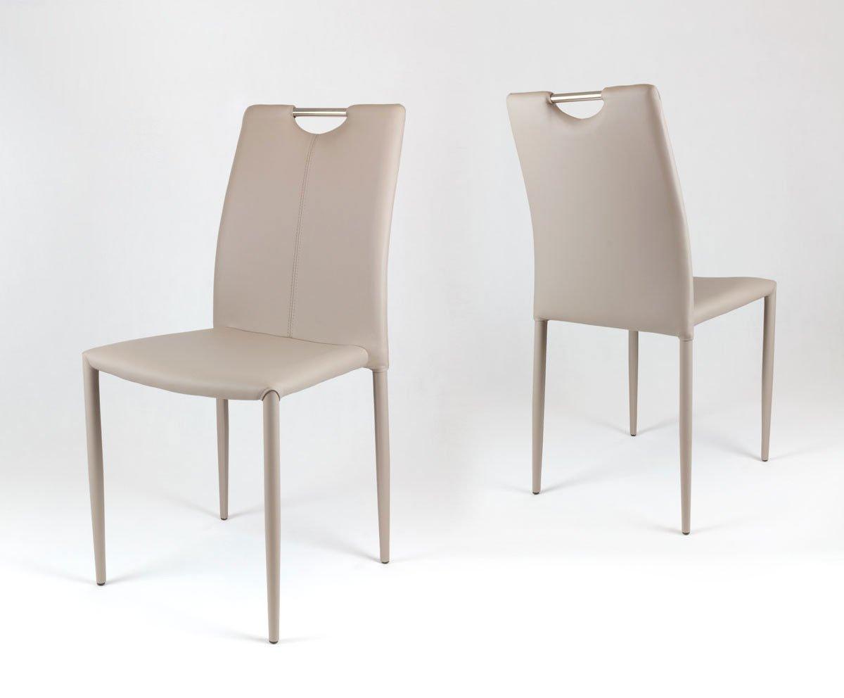 Design stuhl leder metall stuhl atascoa n with design for Design stuhl metall