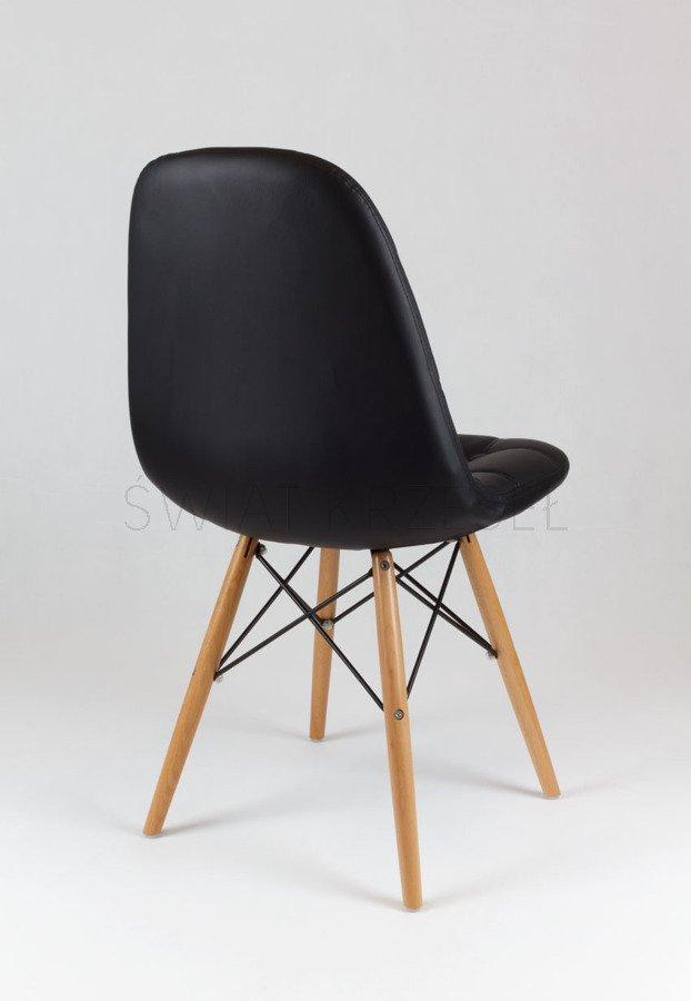 sk design ks008 schwarz kunsleder stuhl mit holzbeine schwarz sonderangebote angebot st hlen. Black Bedroom Furniture Sets. Home Design Ideas