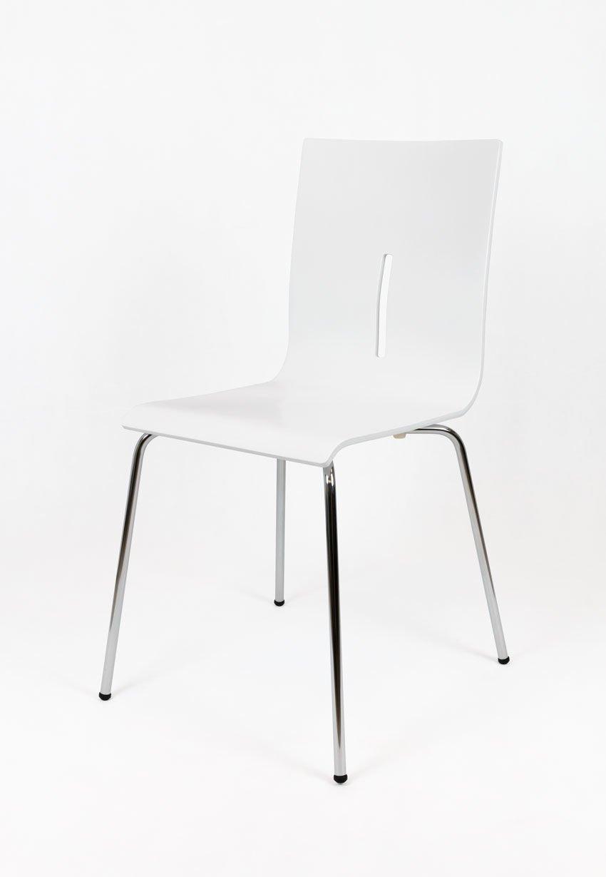 Sk design skd08 stuhl weiss holz angebot st hlen b ro for Stuhl design holz